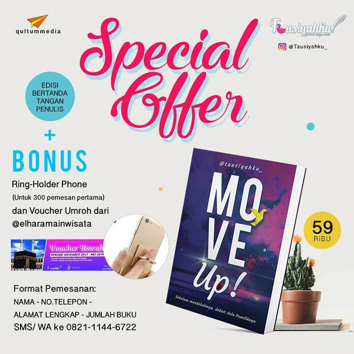 voucher umroh bonus pembelian buku move up!