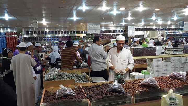 Pasar Kurma di Madinah