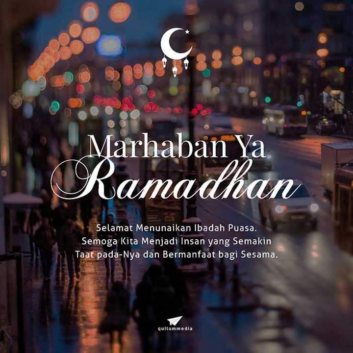 Marhaban Ya Ramadhan 1349 H